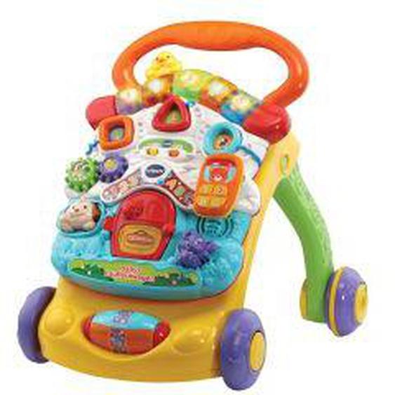 Babys Lauflernwagen