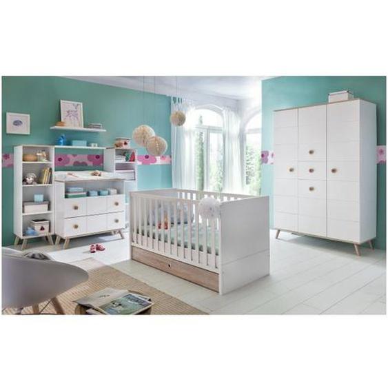 Babyzimmer Billund in Weiß und Eiche | Superset für Ihr Baby - WIMEX
