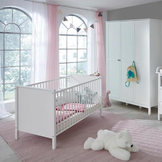 Babyzimmer-Komplettset Westerland (Set, 4-tlg) Einheitsgröße weiß Baby Baby-Möbel-Sets Babymöbel Schlafzimmermöbel-Sets