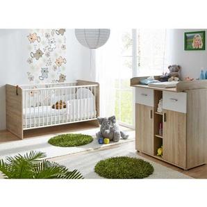 Babyzimmerm�bel in Sonoma Eiche Wei� (2-teilig)