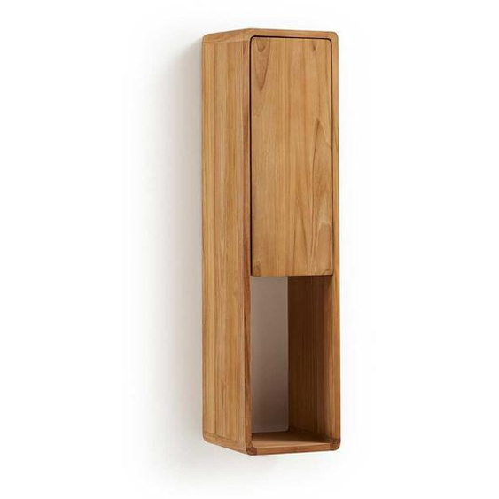 Bad H�ngeschrank aus Teak Massivholz 25 cm breit
