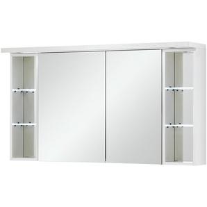 Bad-Spiegelschrank 2-türig  Comer See ¦ weiß ¦ Maße (cm): B: 120 H: 66,8 T: 15 Schränke  Badschränke  Spiegelschränke » Höffner