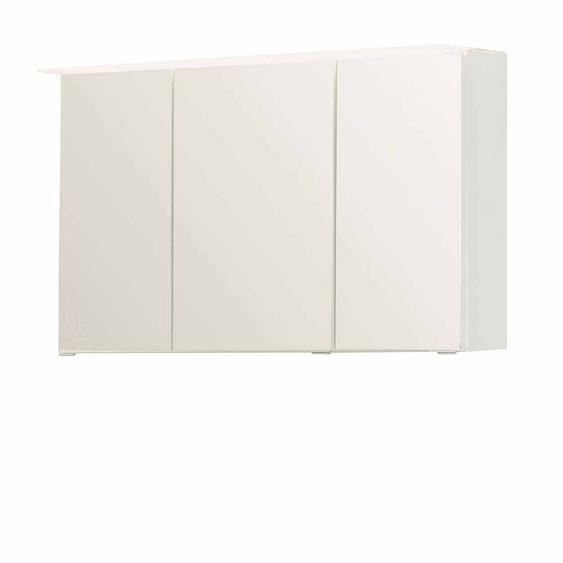 Bad Spiegelschrank 3D Weiß