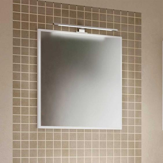 Bad Wandspiegel in Weiß 60 cm breit
