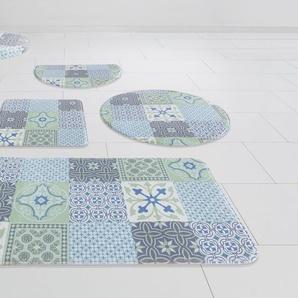 Badematte »Anita« my home, Höhe 14 mm, Memory Schaum, Pastell-Farben