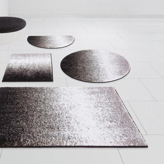 Badematte »Elif« my home, Höhe 15 mm, rutschhemmend beschichtet