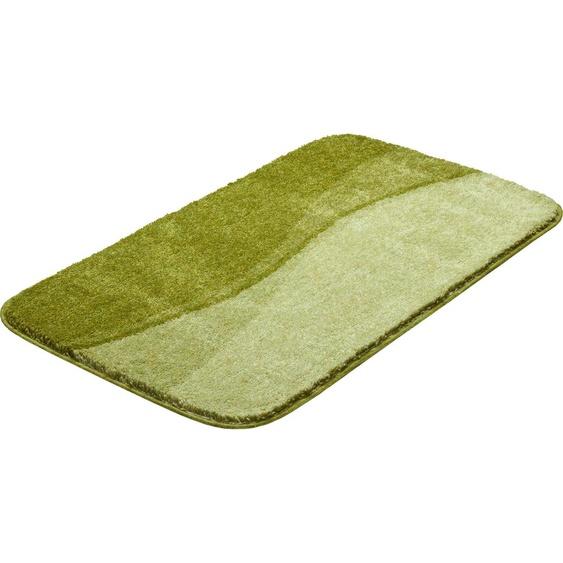 Badematte Flash, Grund, Höhe 20 mm, strapazierfähig 3, rechteckig 60x100 cm, mm grün Gemusterte Badematten