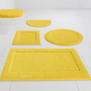 Badematte »Jule« my home, Höhe 13 mm, strapazierfähig, Hoch-Tief-Effekt