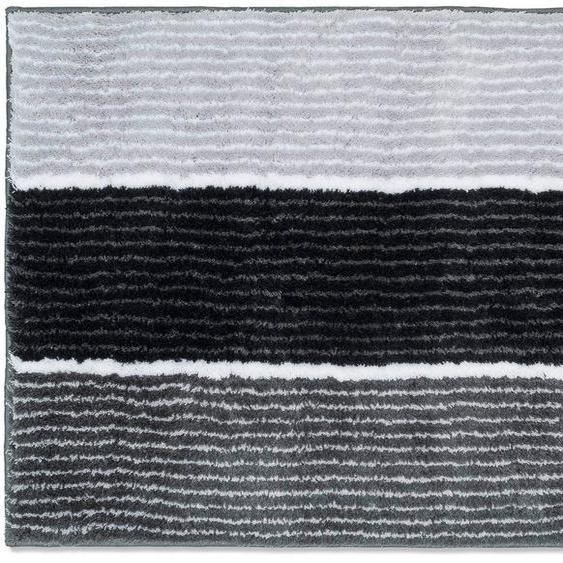 Badematte »Lines« Joop!, Höhe 20 mm, rutschhemmend beschichtet, fußbodenheizungsgeeignet