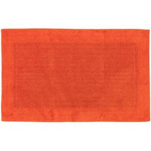 Badematte Loops Orange 50x80 cm