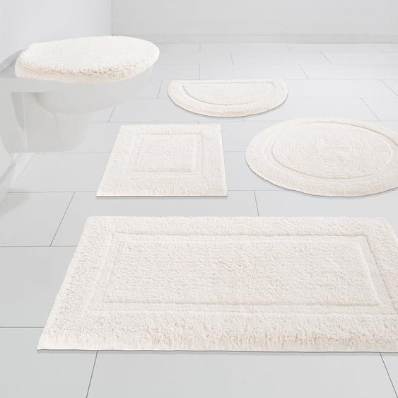 Badematte »Luana« andas, Höhe 13 mm, schnell trocknend, Hoch-Tief-Effekt