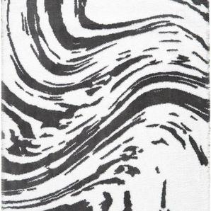Badematte »Marble« Egeria, Höhe 10 mm, rutschhemmend beschichtet, fußbodenheizungsgeeignet