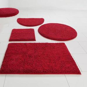 Badematte »Maren« Home affaire, Höhe 15 mm, rutschhemmend beschichtet, fußbodenheizungsgeeignet, Bio-Baumwolle
