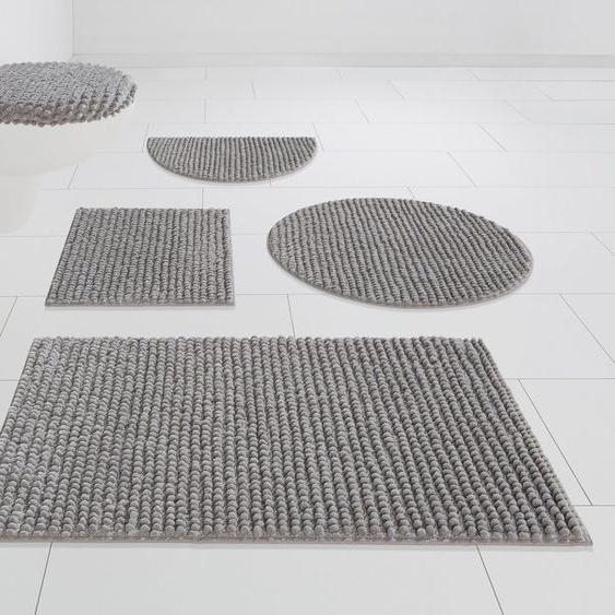 Badematte »Renat« andas, Höhe 15 mm, Badteppich, Badgarnitur, Badezimmerteppich in Pastell, waschbar, geeignet für Fußbodenheizung, schnell trocknend