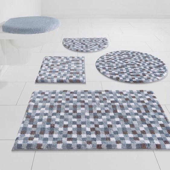 Badematte »Tita« my home, Höhe 16 mm, Besonders weich durch Microfaser