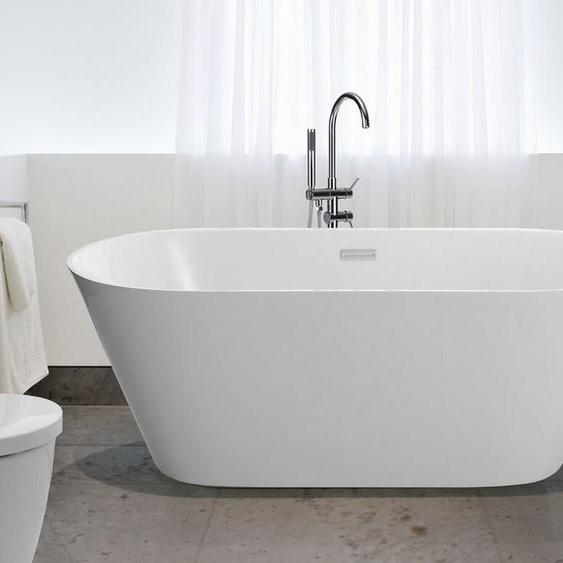 Badewanne freistehend oval 160 cm HAVANA