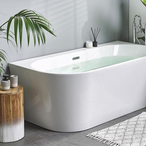 Badewanne weiß oval 170 cm HARVEY