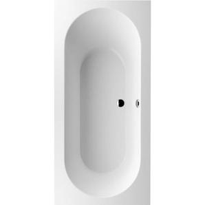 Badewanne Quaryl Rechteck Oberon Duo, UBQ199OBE2V 1900x900mm, inkl. Wannenfüße, Farbe: weiß-alpin - UBQ199OBE2V-01 - Villeroy Und Boch
