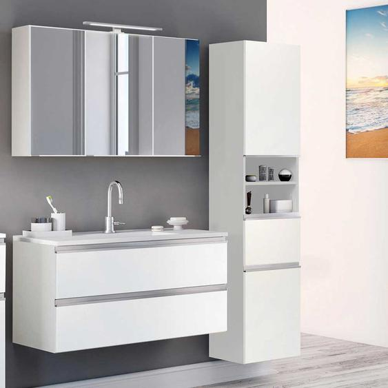 Badezimmer Set in Wei� Made in Germany (3-teilig)