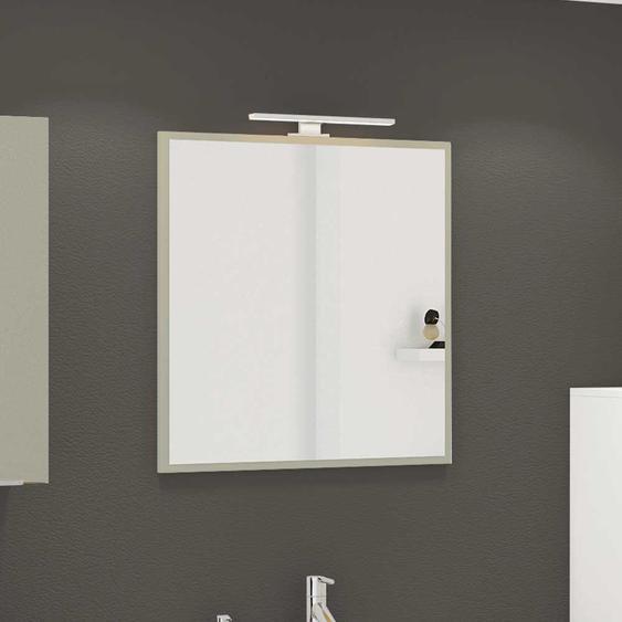 Badezimmer Wandspiegel in Grau 60 cm breit