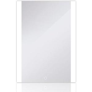 Badezimmerspiegel LED Badspiegel Wandspiegel Lichtspiegel Anti-Beschlag 80*60cm - WYCTIN