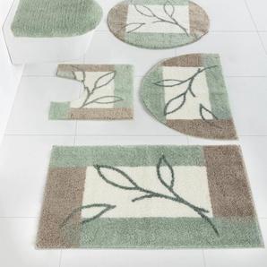 Badgarnitur mit Blätter Design