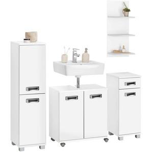 Schildmeyer Badmöbel-Set »Cadi«, weiß, FSC®-zertifiziert