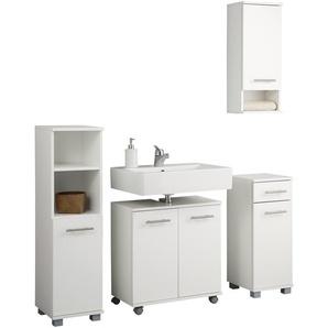 Schildmeyer Badezimmer-Set , weiß, »Emmi«