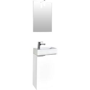 Waschtisch-Set , weiß, »Gizo«, Energieeffizienzklasse: A+ (Skala A++ bis E), Homexperts