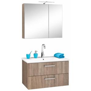 OPTIFIT Waschtisch-Set , braun, »Napoli«, Energieeffizienzklasse: A++(Skala A++ bis E)