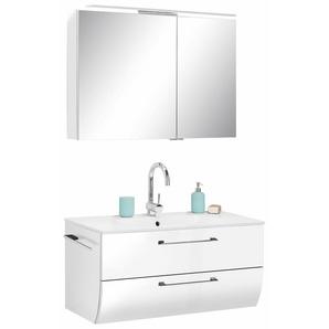 Waschtisch-Set »Sola 3130«, 2er Set, weiß, MARLIN