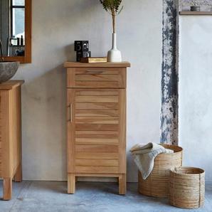 Badschrank aus Teak 45 cm Massivholz kombinierbar
