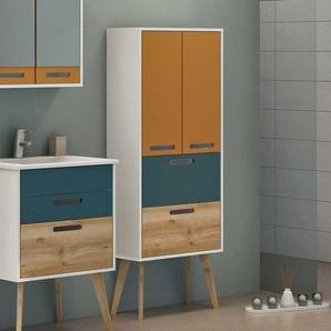 Badschrank in Bunt skandinavischen Design