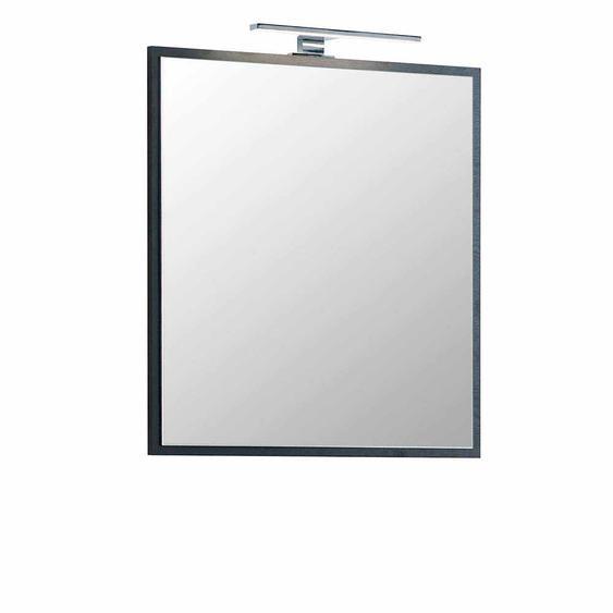Badspiegel in Dunkelgrau 60 cm