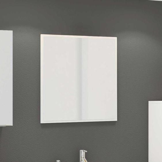 Badspiegel in Weiß 60 cm breit
