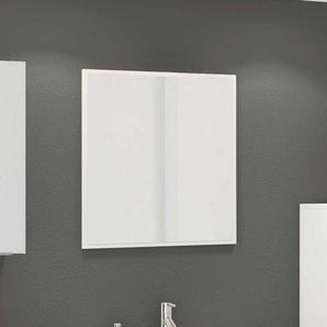 Badspiegel in Wei� 60 cm breit