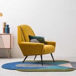 Balico Teppich (135 x 230 cm), Mehrfarbig