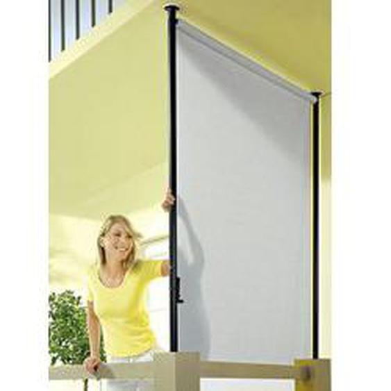 """Balkon-Seitensichtschutz Style"""" in verschiedenen Farben, Größe 120 (Breite ca. 120 cm), Granit"""