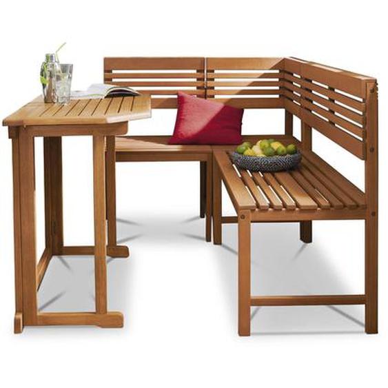 Balkonset, Eukalyptus, Holz