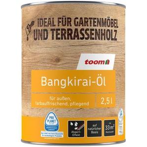 Bangkirai-Öl farblos 2500 ml