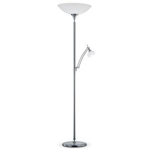 Bankamp LED-Stehlampe, Silber, Metall