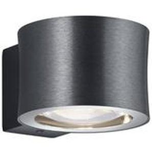 Bankamp LED-Wandleuchte, Anthrazit, Alu, Eisen, Stahl & Metall
