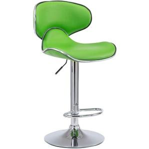 Barhocker Las Vegas V2 Kunstleder-grün - CLP