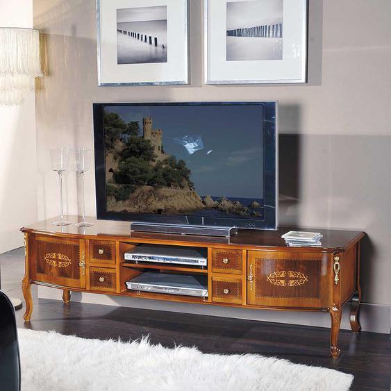 Barock Lowboard Nussbaum furniert 170 cm