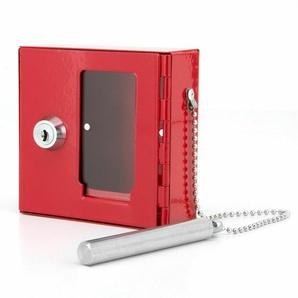 Basi® Not- Schlüssel- Kasten Mit Glasbrecher Abschließbar Metall