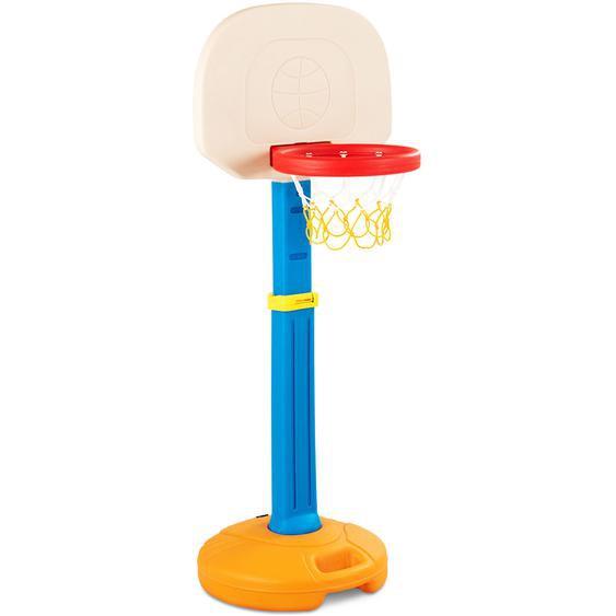 Basketballkorb mit Ständer für Kinder Basketballständer Basketballanlage mit Griff für Innen- & Außen