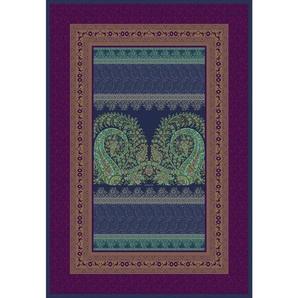 Bassetti Plaid 135/190 cm Blau , Textil , Ornament , 135x190 cm