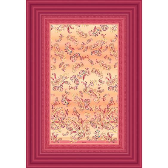 Bassetti Plaid 135/190 cm Mehrfarbig , Textil , Ornament , 135 cm