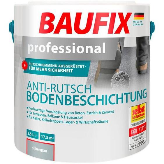 Baufix Acryl-Flüssigkunststoff »Professional«, 2,5 Liter, silberfarben