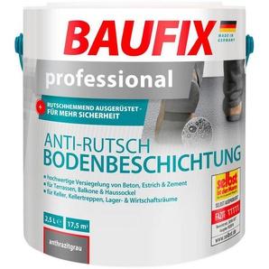 Acryl Flüssig Kunststoff »Professional«, Anti-Rutsch-Bodenbeschichtung, anthrazitgrau, 2,5 l